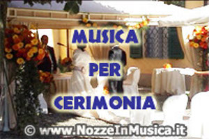 Musica per la Cerimonia n Chiesa o Civile in Location
